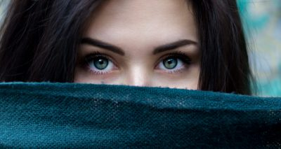 Beautiful eyes - no dark spots under eyes