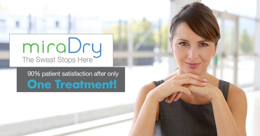 New Treatment for Excessive Underarm Sweating