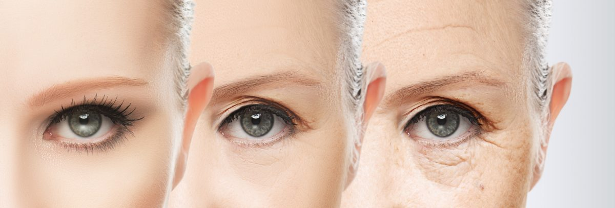 beauty concept skin aging. anti-aging procedures, rejuvenation, lifting, tightening of facial skin in Loudoun, Virginia