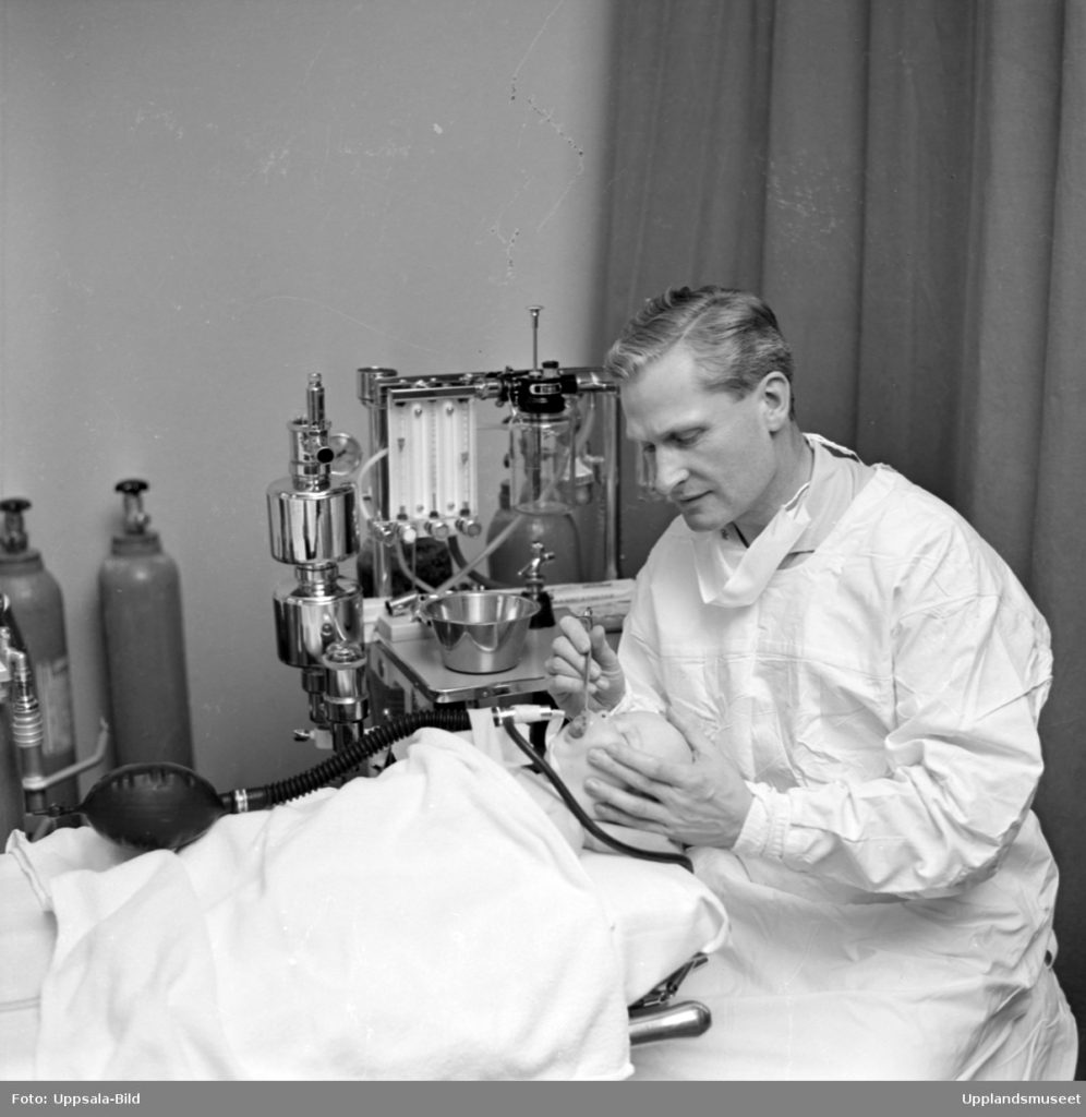 old photo of a plastic surgeon