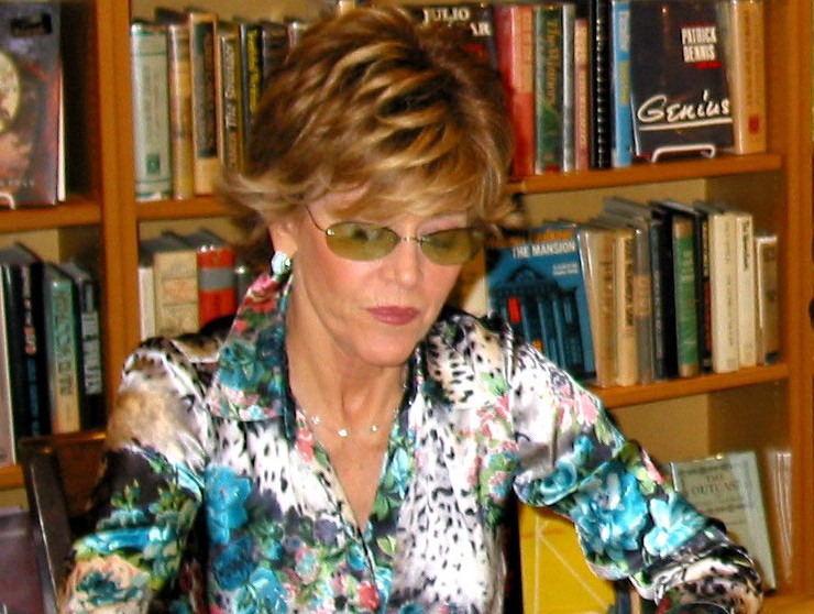 Jane Fonda, actress and political activist