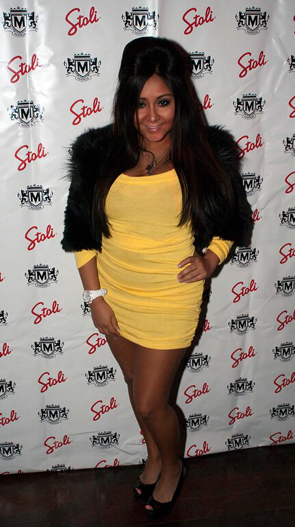 Snooki Image of breast augmentation