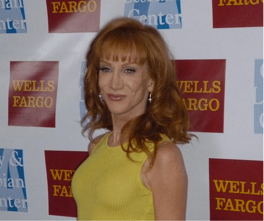 Kathy Griffin, comedian and political activist