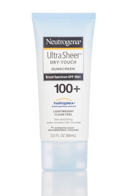 Neutrogena Ultra Sheer Dry-Touch Sunscreen SPF 100+