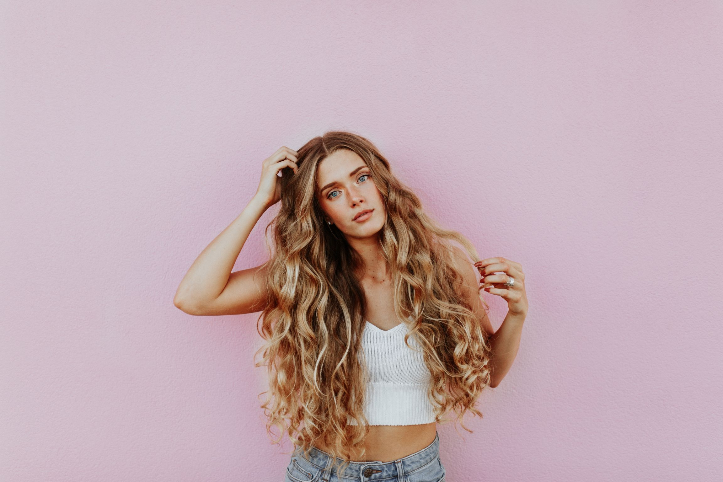 Girl with lots of hair resized