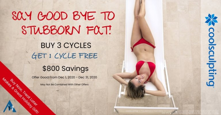 Coolsculpting 2020 Holiday Promo
