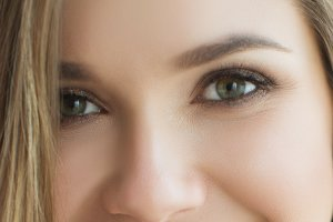 young woman eyes 2